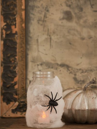 DIY Halloween Spider Lanterns thumbnail