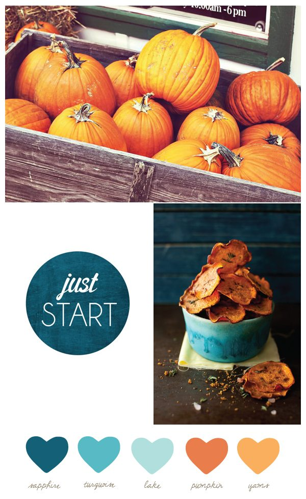 Sapphire + pumpkin | The Sweetest Occasion