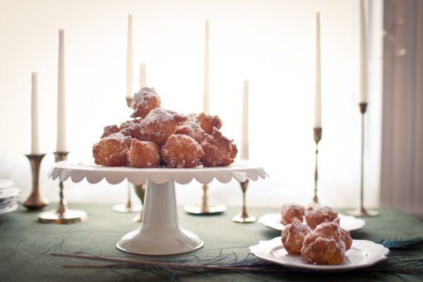 Orange scented beignets | recipe + photo by Andrea Hubbell for The Sweetest Occasion