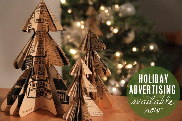 Holiday advertising with The Sweetest Occasion