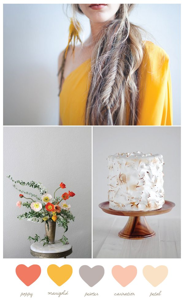 Poppy + marigold | The Sweetest Occasion