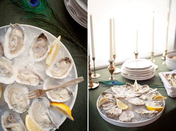 Oysters | recipe + photo by Andrea Hubbell