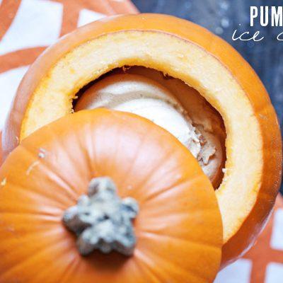 Pumpkin Ice Cream thumbnail