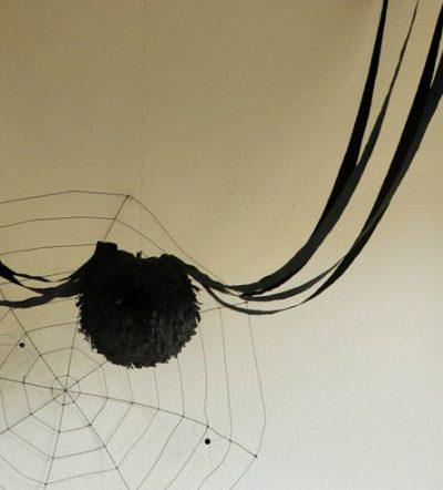 DIY Fringe Spider Lanterns thumbnail