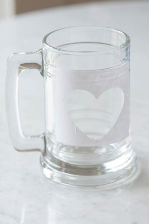 DIY etched glass | The Sweetest Occasion