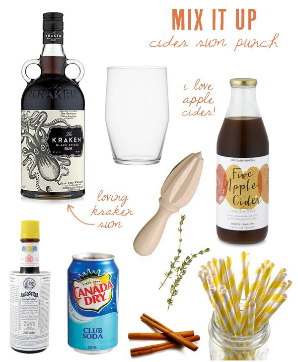 Cider rum punch | The Sweetest Occasion