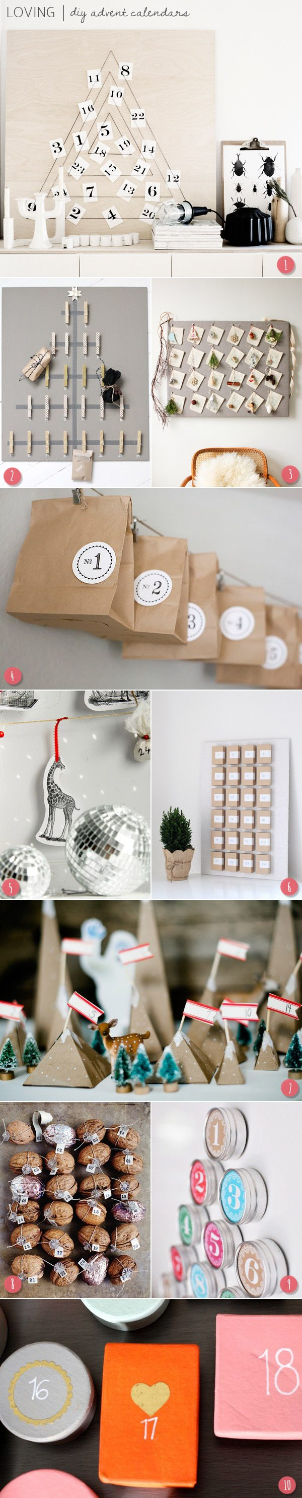 DIY advent calendars | The Sweetest Occasion