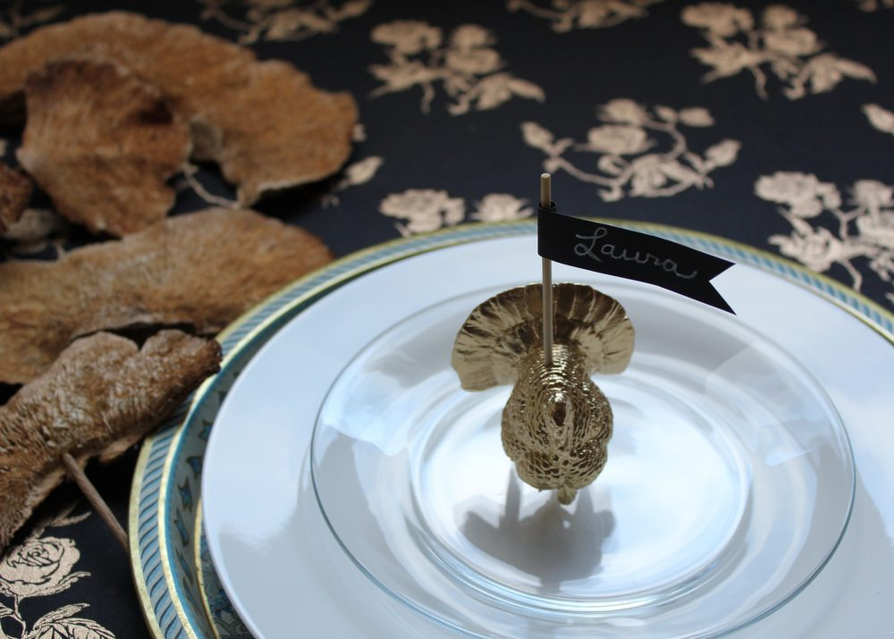 Diy Turkey Place Card Holder B The Sweetest Occasion
