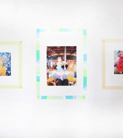 DIY Washi Tape Photo Frames thumbnail