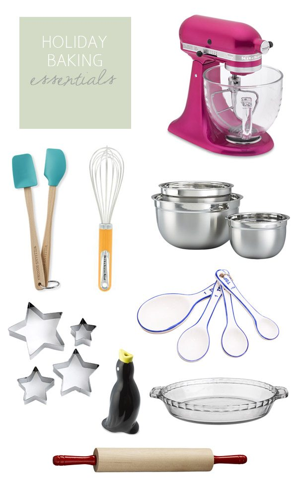 Holiday baking essentials   The Sweetest Occasion