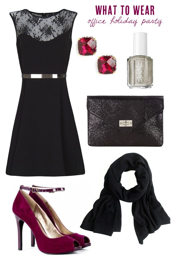 What to wear to the office holiday party | The Sweetest Occasion