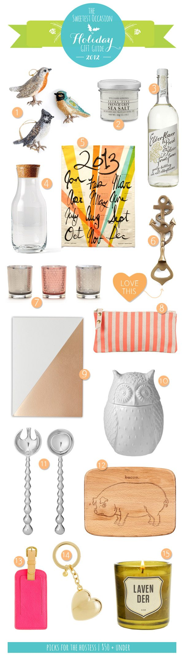 The Gift Guide: Hostess Gifts | The Sweetest Occasion