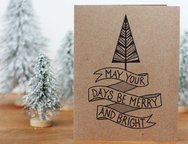 Favorite holiday cards from The Sweetest Occasion