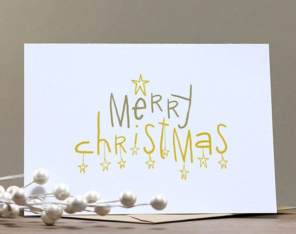 Merry Christmas Card The Sweetest Occasion The