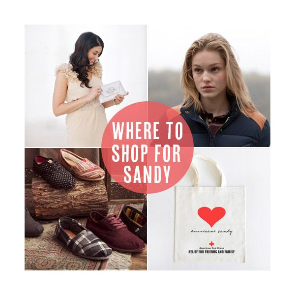 Where to shop to benefit Hurricane Sandy relief from Babble.com