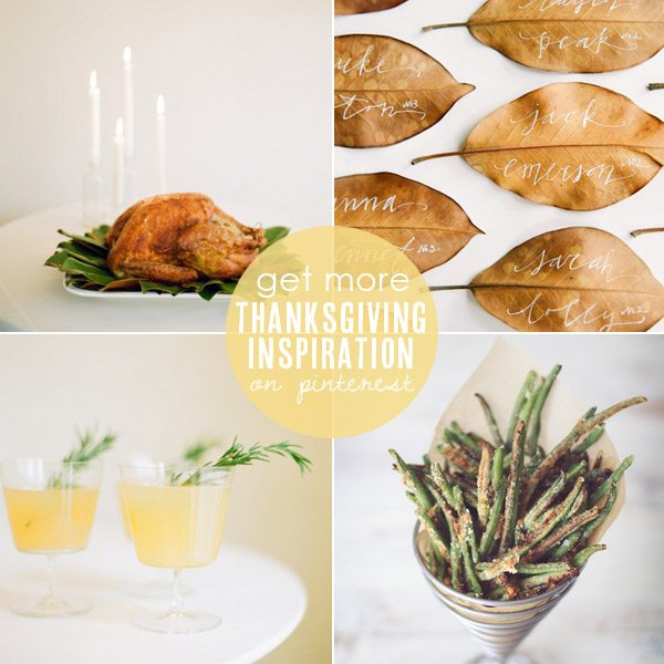Thanksgiving entertaining ideas from The Sweetest Occasion