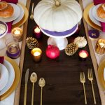 Golden Thanksgiving Table