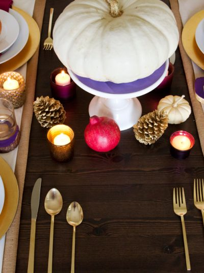 Golden Thanksgiving Table thumbnail