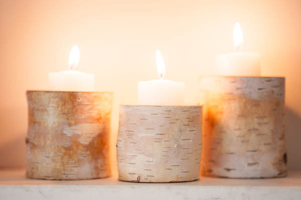 Birch candles | Alice G Patterson for The Sweetest Occasion