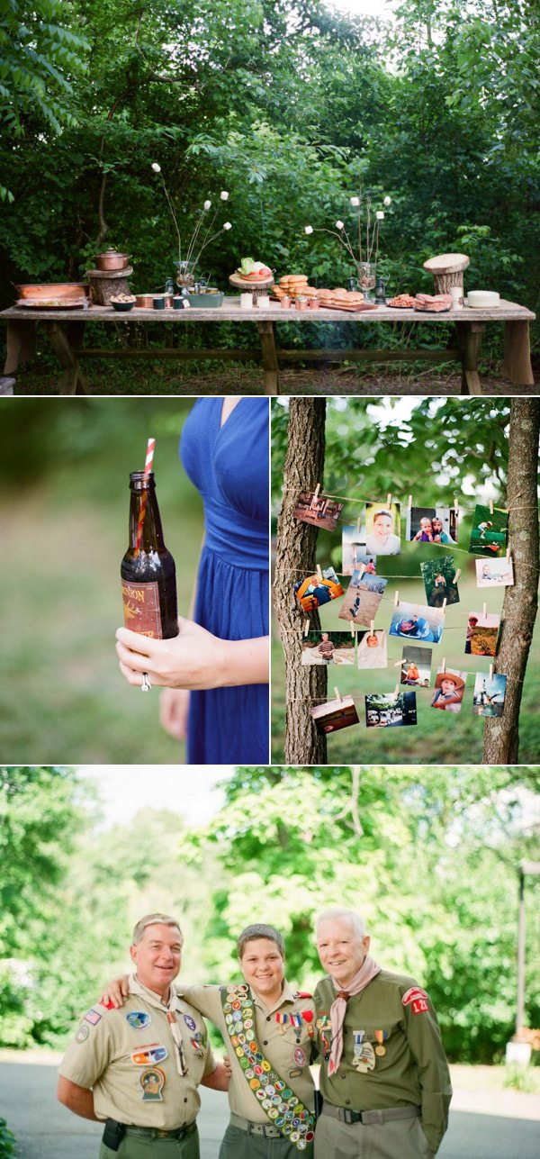 A Camping Party | The Sweetest Occasion