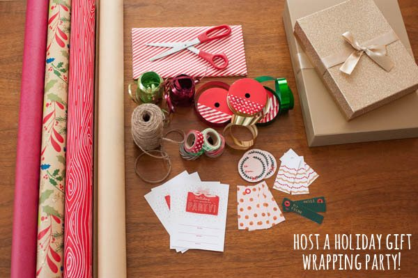 Holiday gift wrapping printables from The Sweetest Occasion