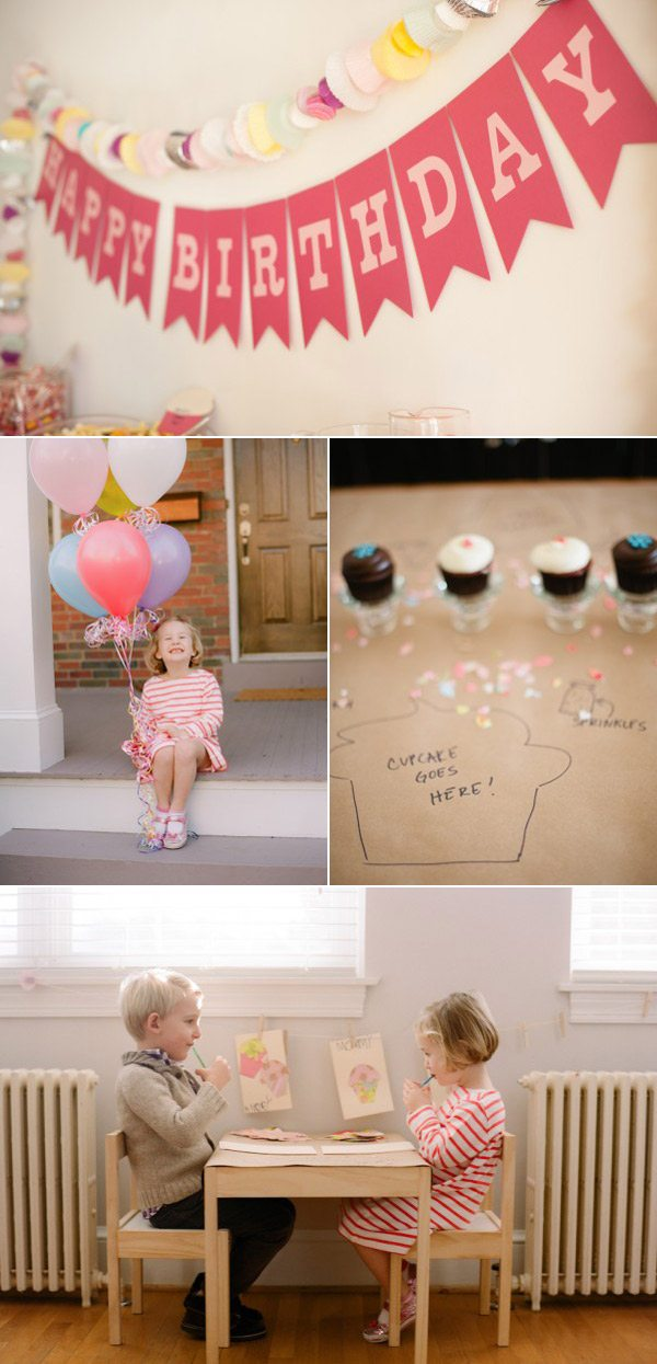 A Cupcake Birthday Party | The Sweetest Occasion