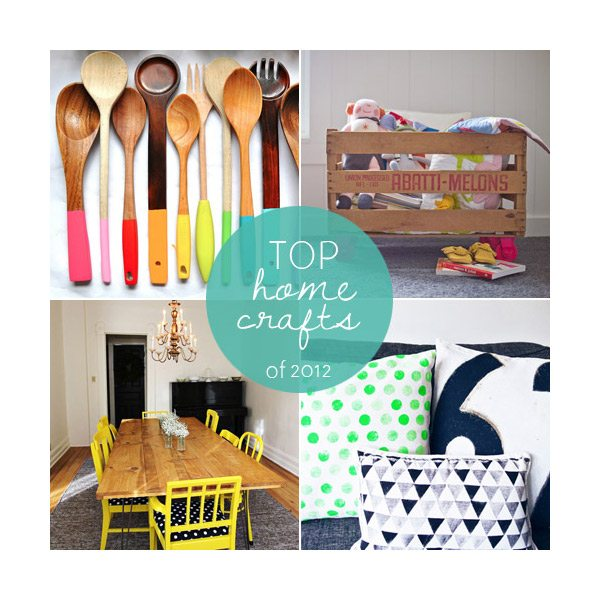 Top home crafts of 2012
