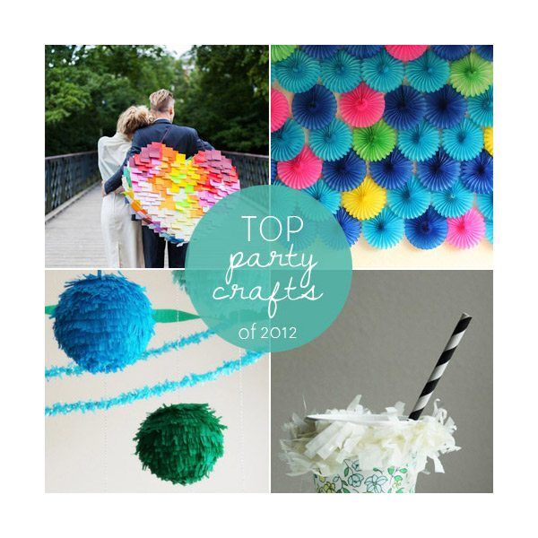 Top party crafts of 2012