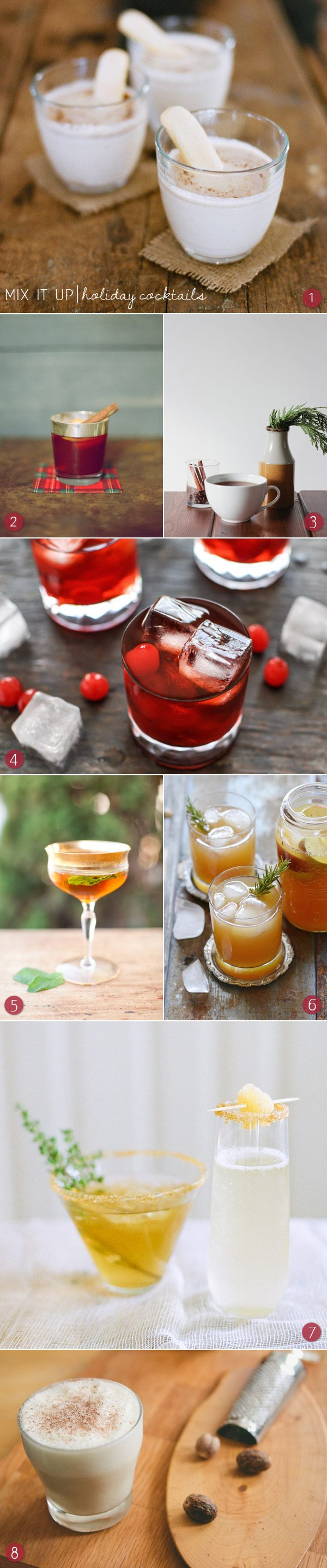 Holiday cocktails | The Sweetest Occasion