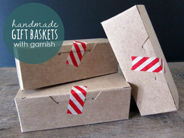 Handmade holiday gift basket ideas from The Sweetest Occasion