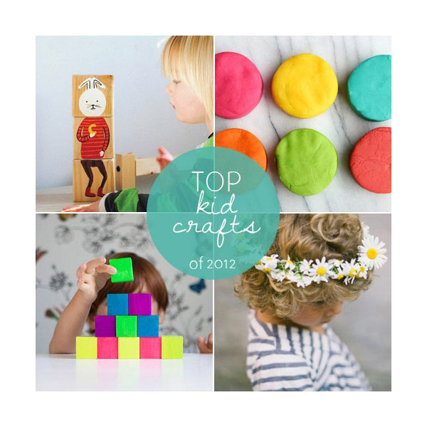 Top kids crafts of 2012