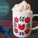 Nutella Hot Chocolate + Cinnamon Whipped Cream