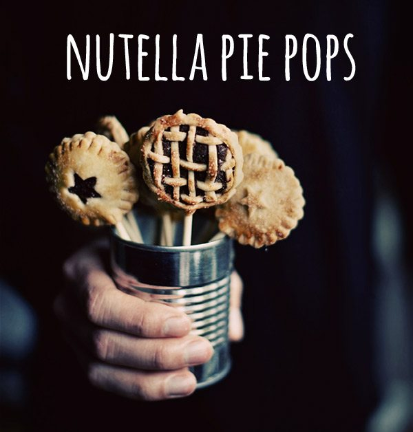 Nutella pie pops by Call Me Cupcake via The Sweetest Occasion