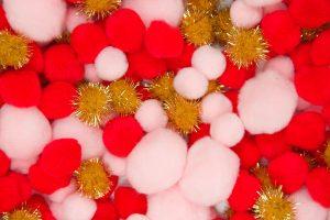 DIY Pom Pom Tablecloth Supplies 2