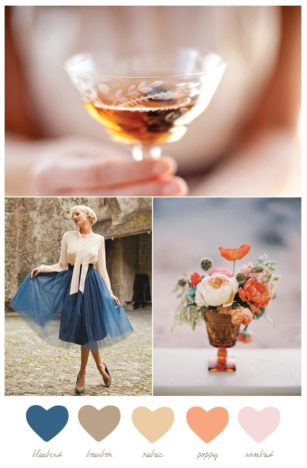 Bluebird + bourbon | The Sweetest Occasion