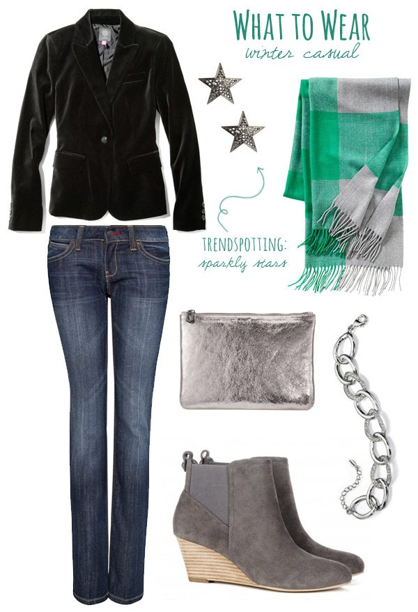 What to Wear: Winter Casual   The Sweetest Occsaion