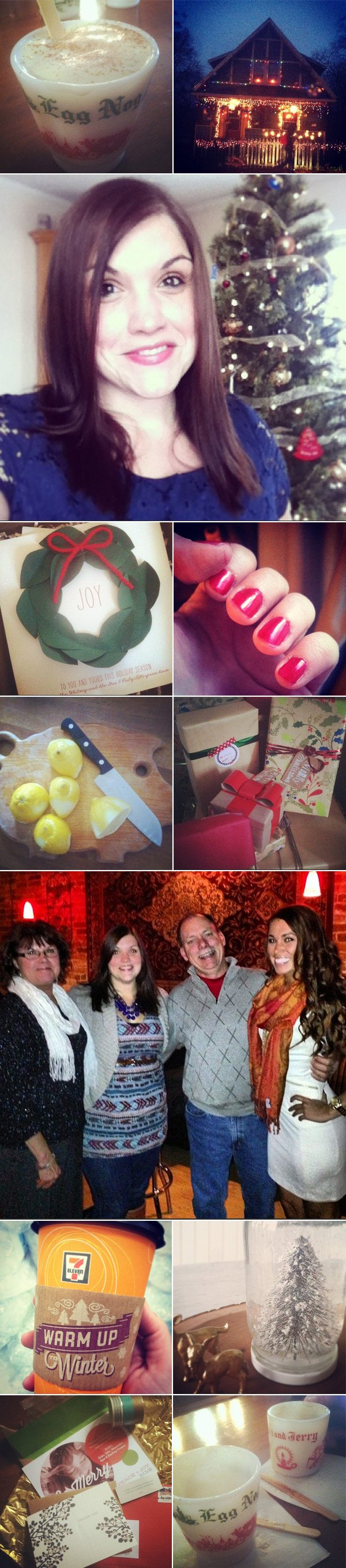 Christmas snippets | The Sweetest Occasion