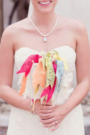 Colorful hooray flags | The Sweetest Occasion