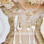 Loving Gold Table Settings