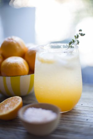 Sunny Winter Cocktail | The Sweetest Occasion