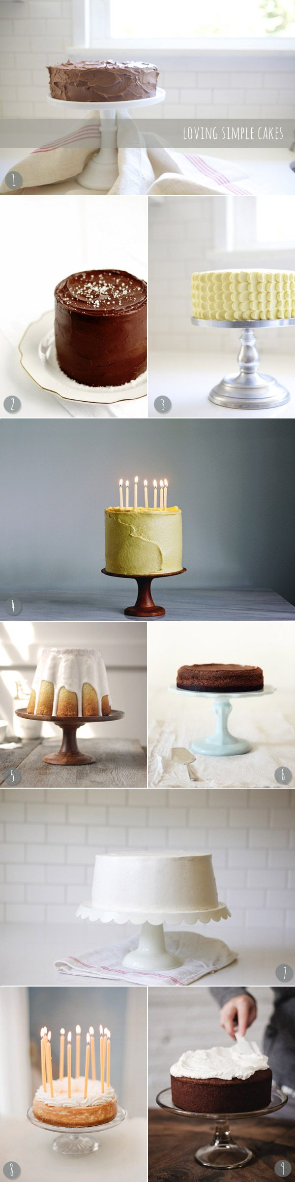 Loving simple cakes | The Sweetest Occasion