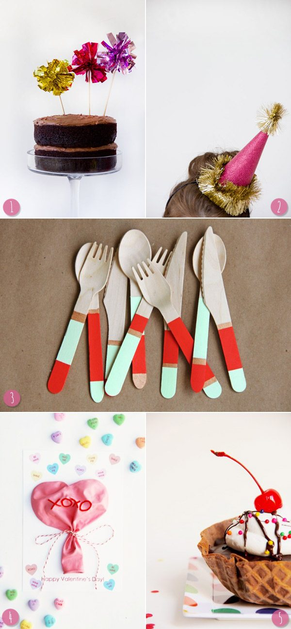 Pretty crafts by Studio DIY via The Sweetest Occasion