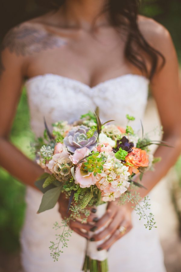 Succulent Wedding Bouquet The Sweetest Occasion The