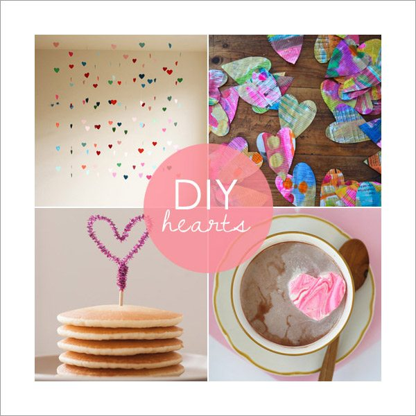 DIY Valentines Day Hearts