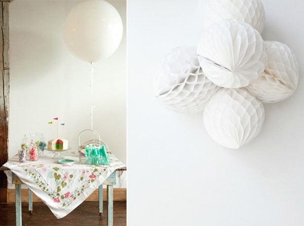Festive party decor from The Sweetest Occasion