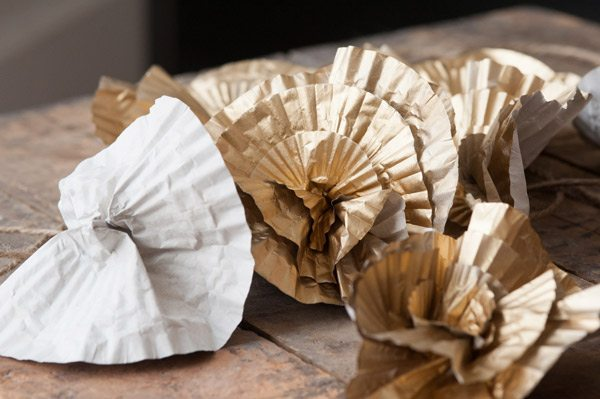 DIY Cupcake Liner Flowers from The Sweetest Occasion