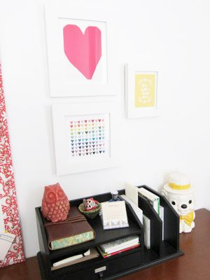 Love art prints from Minted on The Sweetest Occasion