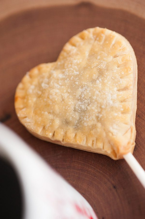 Mini Cherry Pies - Heart Shaped Pie Pops — The Sweetest Occasion