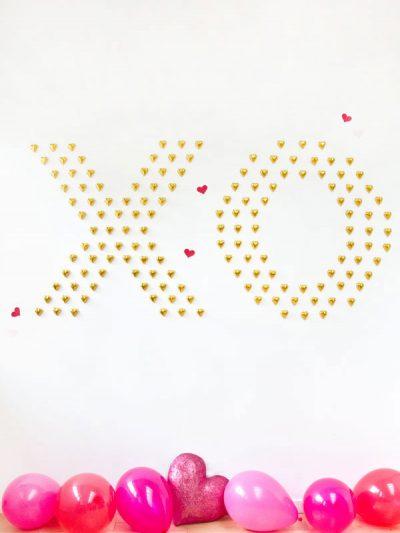 DIY Chocolate Heart Wall thumbnail