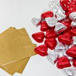 DIY Chocolate Heart Wall Supplies